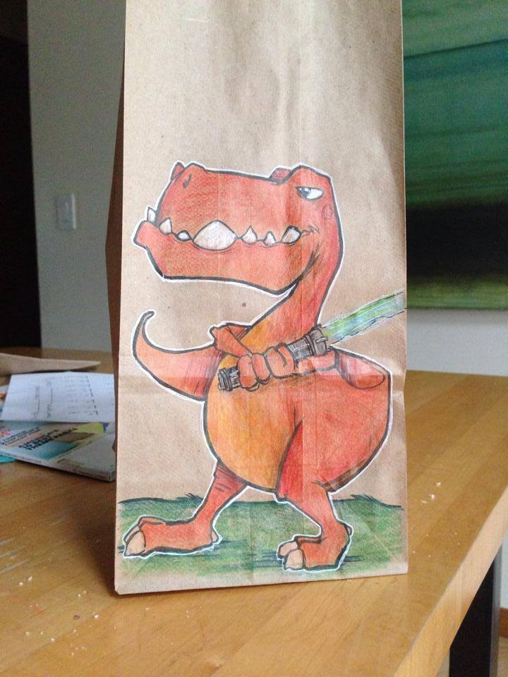 Artsy Lunch Bags (15)