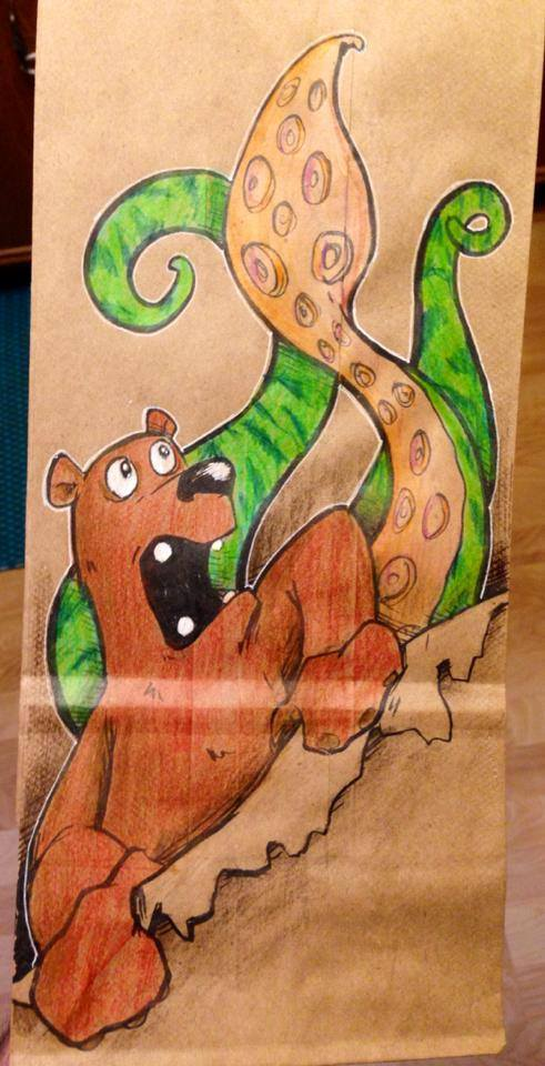 Artsy Lunch Bags (16)