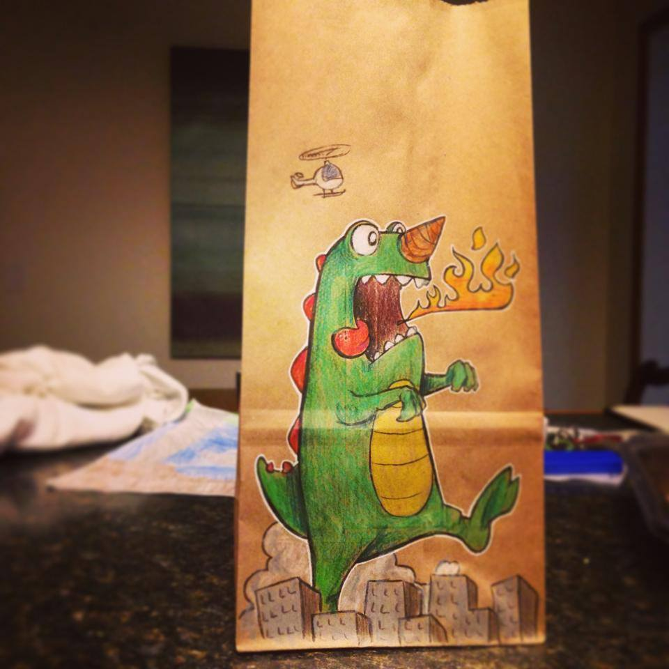 Artsy Lunch Bags (17)