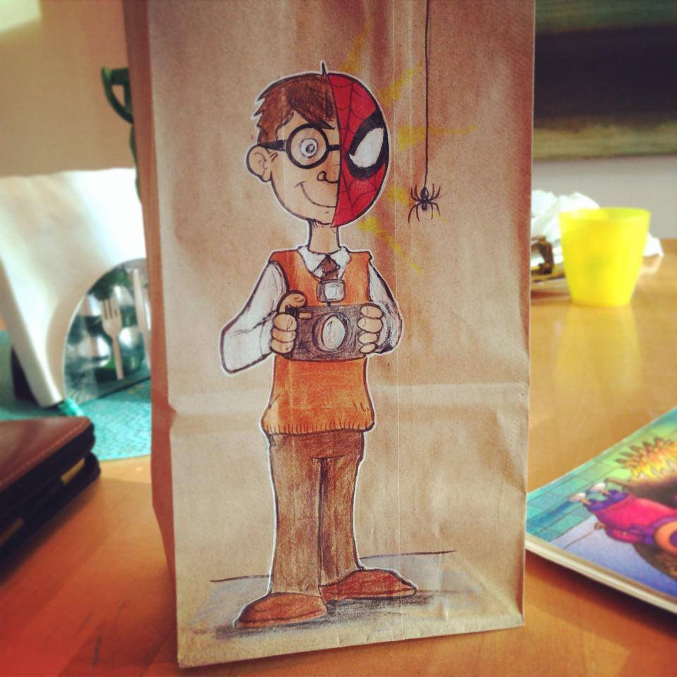 Artsy Lunch Bags (3)