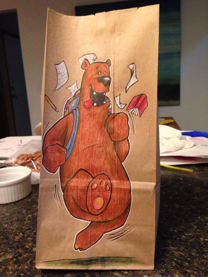 Artsy Lunch Bags (5)