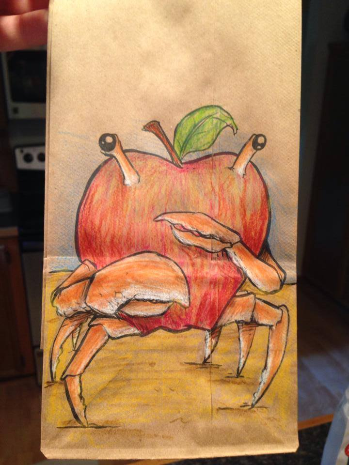 Artsy Lunch Bags (7)