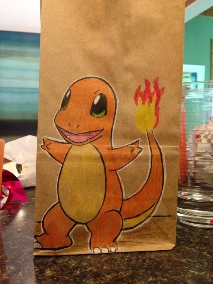 Artsy Lunch Bags (8)