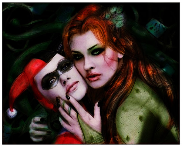 _harley_quinn_and_poison_ivy_by_isaiahks