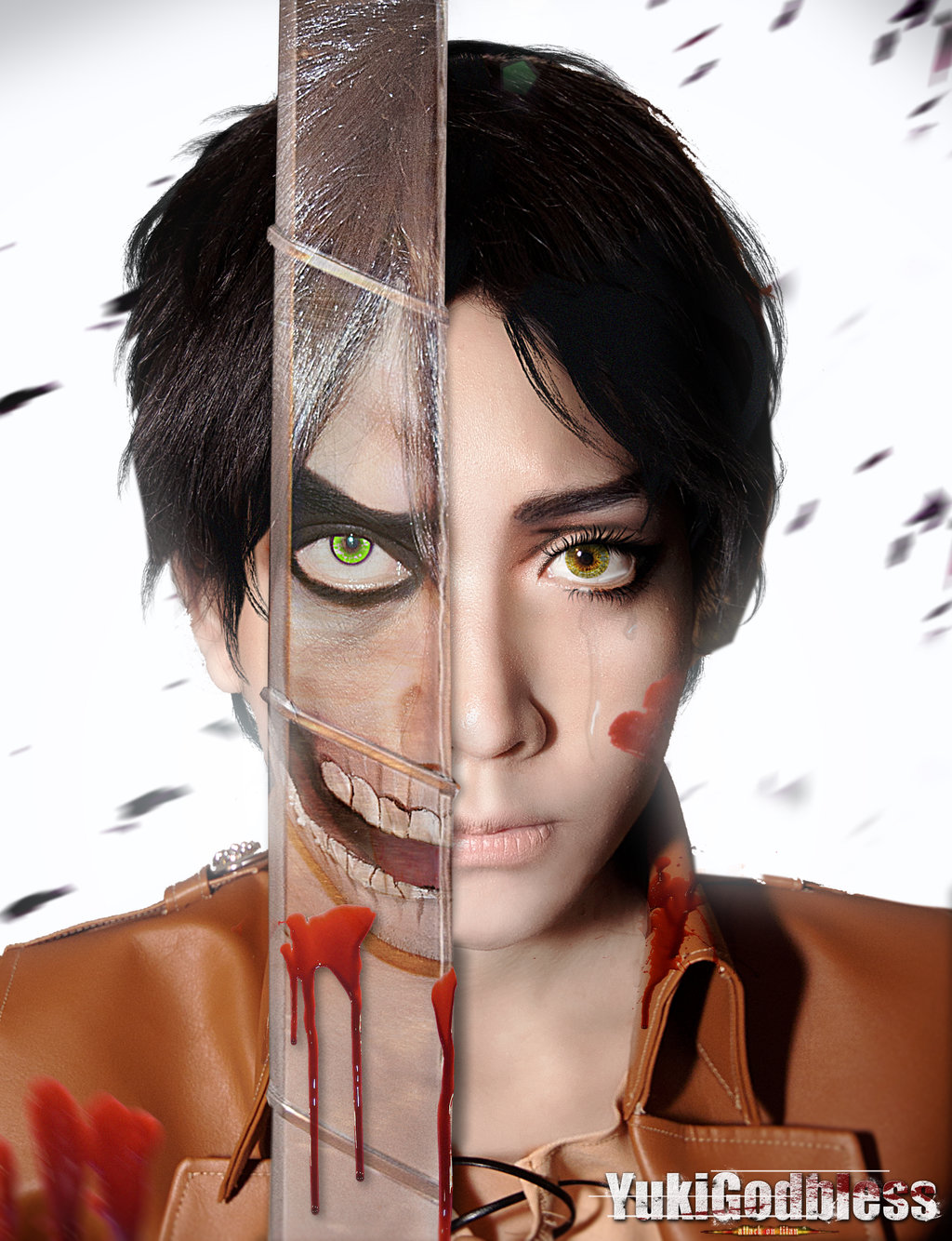 Eren as Titan Cosplay
