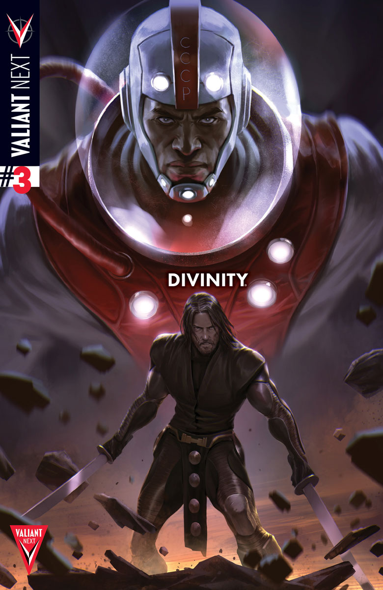 Divinity #3 Cover