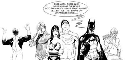 Funny Justice League Artworks by Stjepan Sejic
