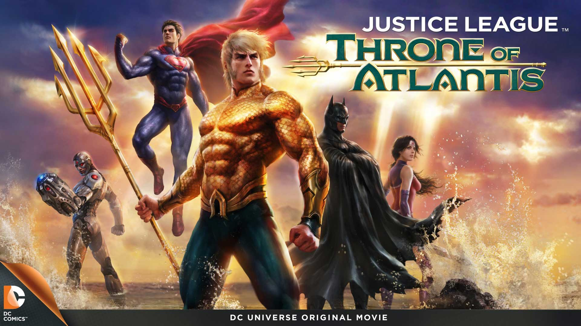 Throne Of Atlantis Showcases True Awesomeness Of Aquaman