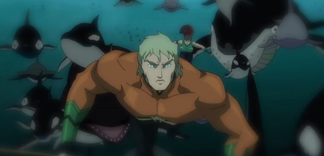 Aquaman in Action