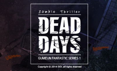 Dead Days: A Thrilling Tale Based in a Zombie Apocalypse