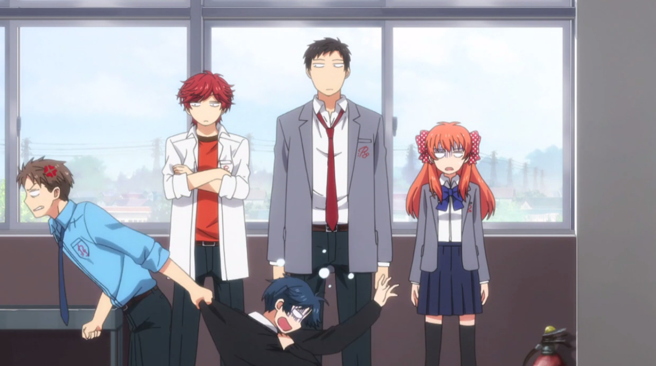 Monthly Girls' Nozaki-kun 4