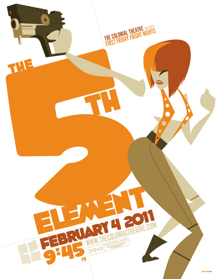5th Element Poster