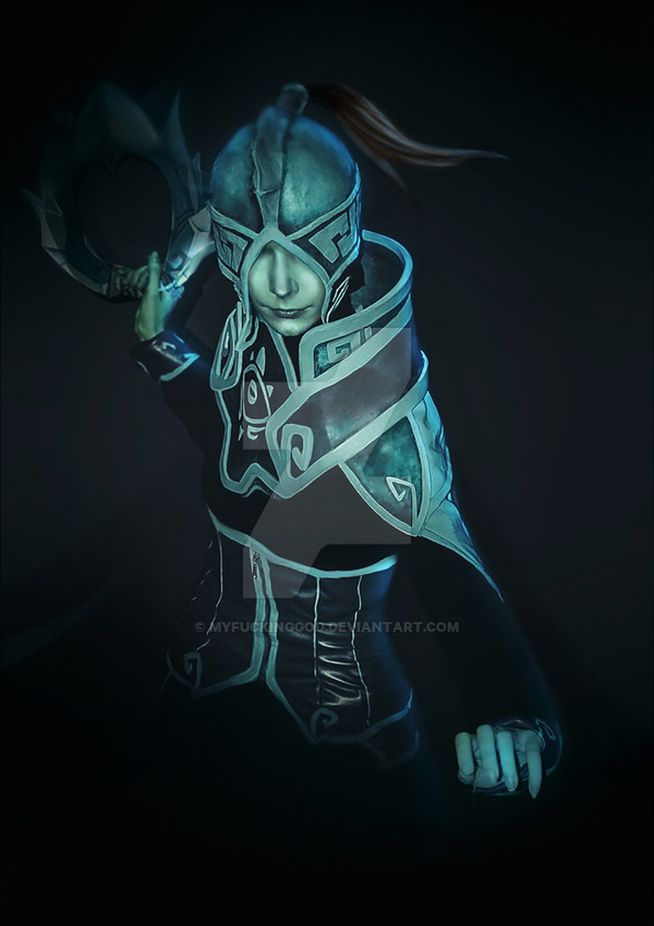 Phantom Assassin Cosplay 2