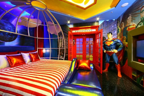 Amazing-Superman-Room