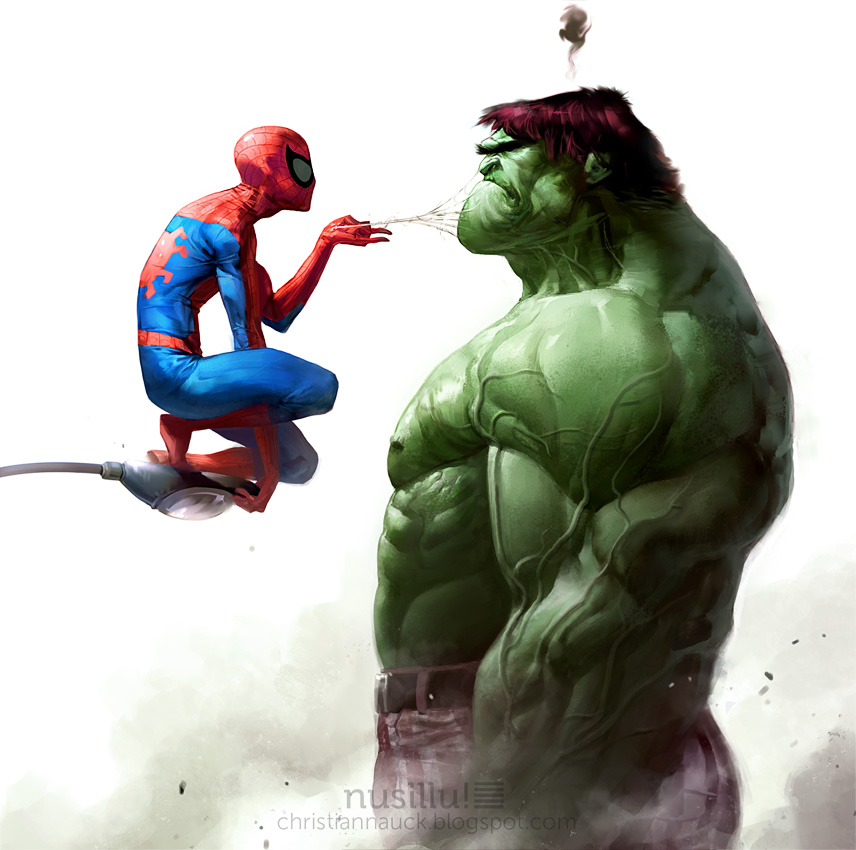 Hulk X Spiderman