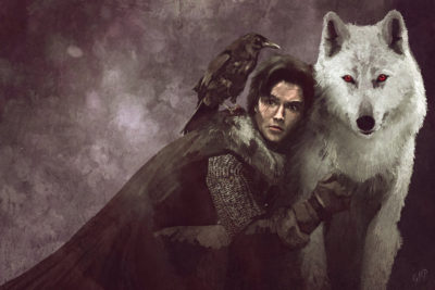 Fan Art Friday: Jon Snow, Robin, Ultron and More