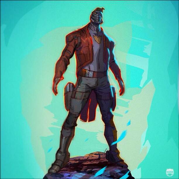 Star-Lord Art