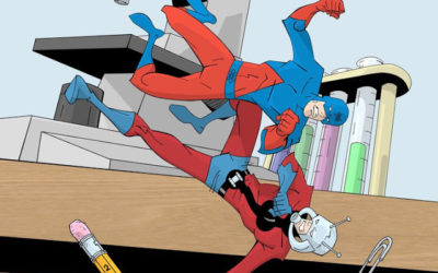 Atom vs Ant-Man: The Biggest Little Heroes