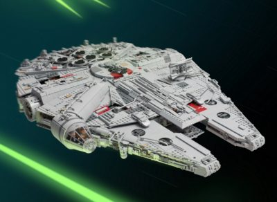Star Wars Fan Spends a Year Building an Epic 7,500-piece LEGO Millennium Falcon