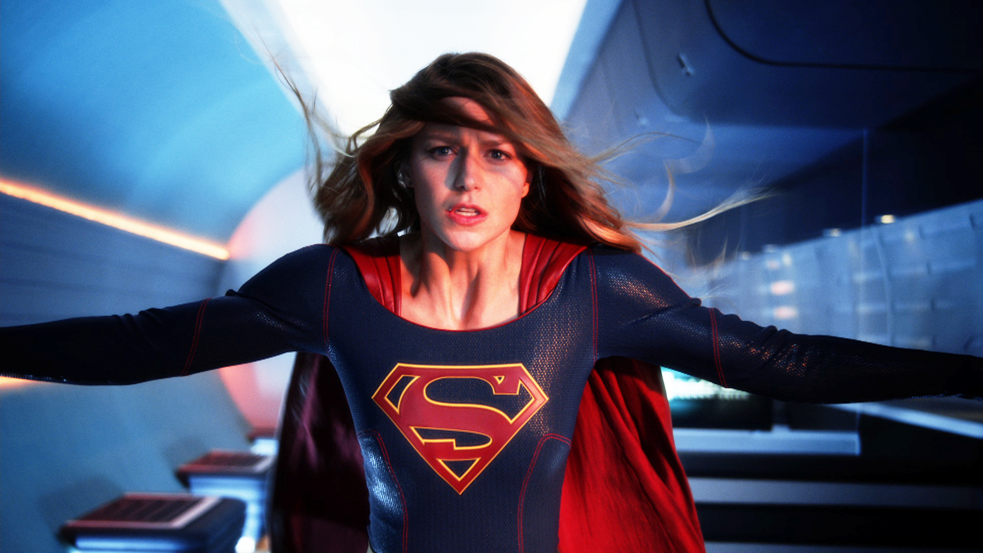 Supergirl Under Heat