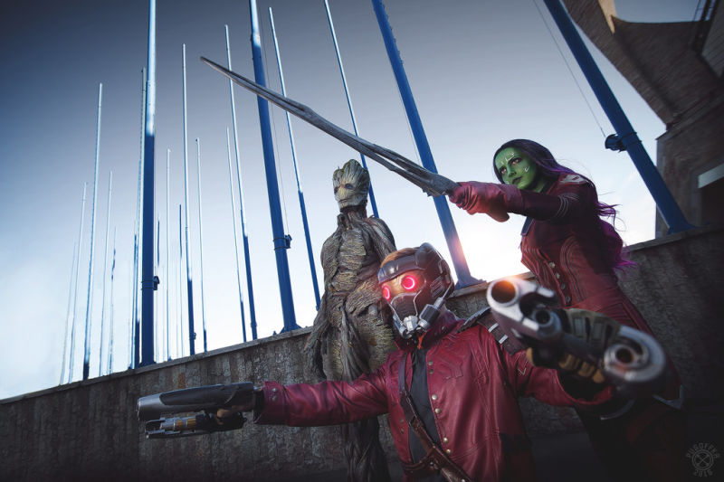 Guardians of the Galaxy Cosplay 1*1