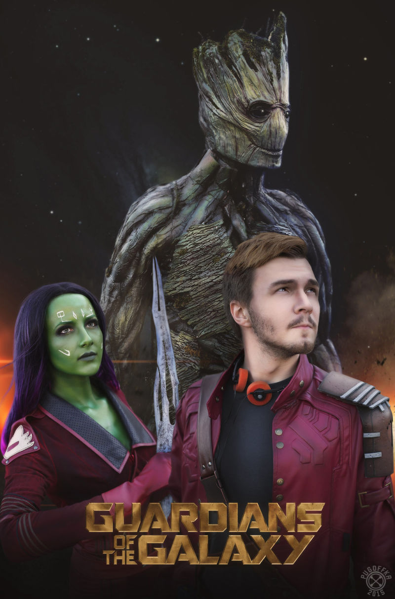 Guardians of the Galaxy Cosplay 1*2