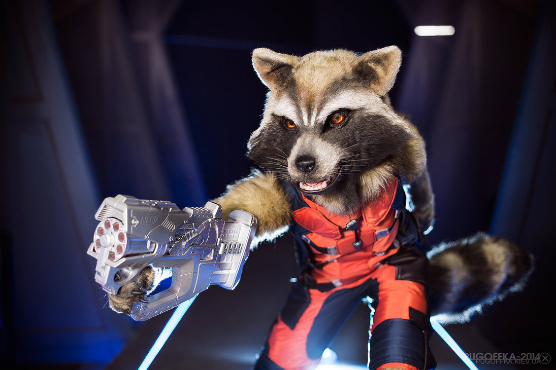 Rocket Raccoon Cosplay