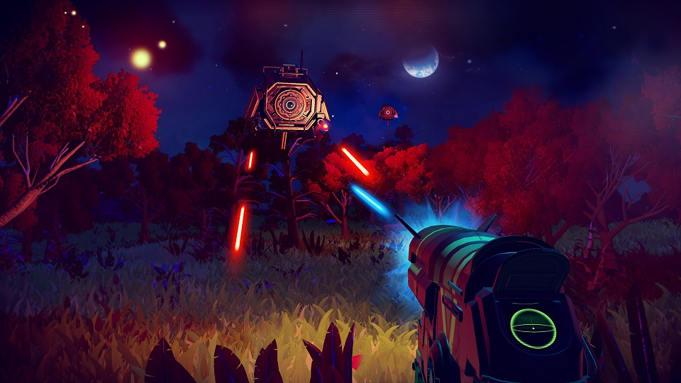 NightDrone No Man's Sky