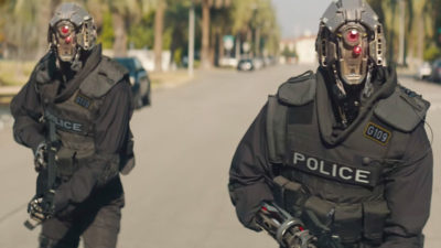 Watch Robbie & Stephen Amell's Sci-Fi Short Film Code 8