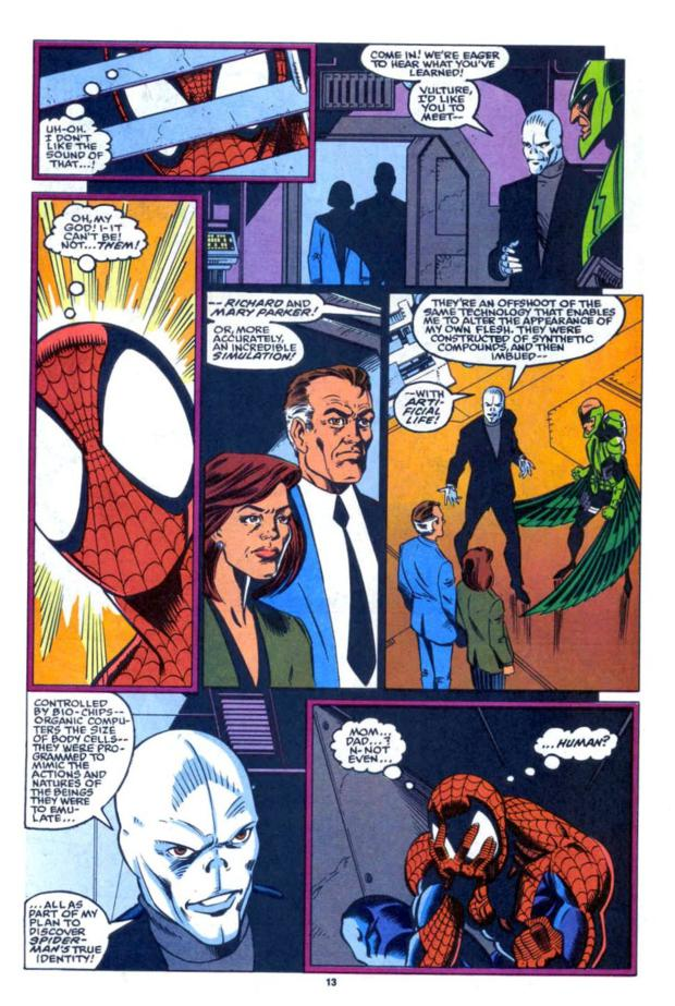 Spider-Man's Parents Turns Out to Be Robots