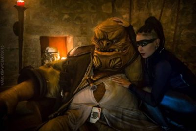 This Grummgar Cosplay From The Force Awakens is Just Perfect