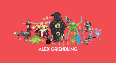 8-Bit Art By Alex Griendling Brings Pop Culture To Life