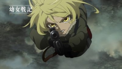 Is Youjo Senki On It's Way To The Top Of The Pack?